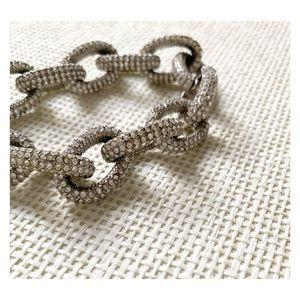 J-Crew - Pavé Link Bracelet